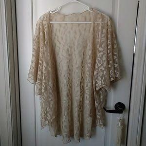 Lace Kimono size 1X